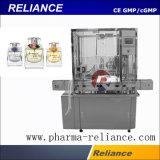 스테인리스 향수 또는 화장품 병 충전물 기계