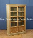 Resumo de alta qualidade armário de madeira para a sala de visitas