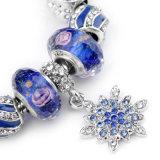 Wulstige Kristallgroßhandelszubehör-wulstiges Armband der schnee-Armband-DIY
