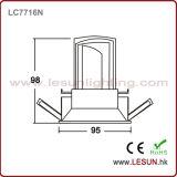Couper l'ÉPI enfoncé par 12W du trou 115mm DEL s'allument vers le bas pour l'éclairage de Commerical LC7717D
