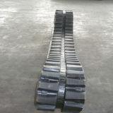 Piste en caoutchouc d'approvisionnement d'usine pour la foreuse horizontale