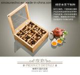 La impresión de logotipo personalizado Wholesales baratos de madera de embalaje Caja de regalo