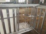 Het Wegen van het Lam van de Geit van de Schapen van de Apparatuur van het vee Elektrische Schaal met Krat