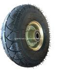 3.50-4 عربة يد يد حامل متحرّك قابل للنفخ إطار العجلة وعجلات