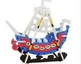 Het aangepaste Houten Materiaal schilderde 3D OnderwijsSpeelgoed van de Baby van de Blokken van het Onderwijs van de Gift van de Auto van de Bouw van de Jonge geitjes van het Stuk speelgoed van de Kinderen van de Producten van het Stuk speelgoed van het Raadsel DIY Promotie Houten