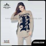 カレンの女性の方法特大ロゴによって模造されるプルオーバーのセーター