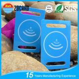 Kundenspezifische Plastikmarken des Drucken-RFID des gepäck-NFC