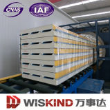 Isolamento termico e Easy Assembly EPS/PU Wall Sandwich Panel con lo SGS Proved