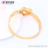 Ultimo Fashion Xuping Elegant 18k Gold - Plated Heart Jewelry Bangle con Rural Style