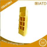 Étalage fait sur commande de magasin de produit de détail de mémoire de papier de carton de bruit pour DVD/CD