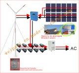 2Квт ветровой электростанции системы для дома и фермы используется отключение системы grid Гелиевый аккумулятор 12V100AH