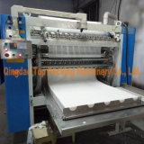 ナプキンのペーパーティッシュの浮彫りになる折る機械