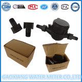 Medidor de flujo de agua para uso doméstico de plástico de nylon