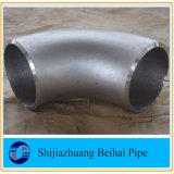 Um234wpb DN100 Sch40 Asmeb16.9 do cotovelo do tubo de aço carbono sem costura