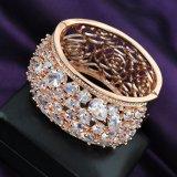 Luxuxschmucksache-Geschenk-Anweisung-Goldfrauen-Kristall-Armband