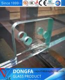 10mm temperado sem caixilho Sasfety vidro temperado de cor clara