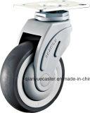 Plastic Bracket 3 -5inch giratorio Medical Caster, ruedas de ruedas de la cama de hospital