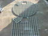 Galvanisé à chaud tranchée le couvercle de grille en acier