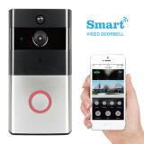Телефон двери WiFi камеры слежения дверного звонока видео- с PIR