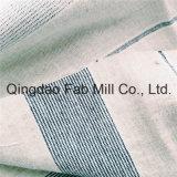 Teñido de hilados de algodón/Lino Tejido Hometextile (QF16-2498)