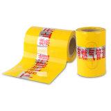 Горячая продавая полезная обнаруженная лента предосторежения для подземного газопровода пользы