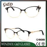 Het nieuwe Optische Frame van het Oogglas van de Vrouwen van Eyewear van de Glazen van het Metaal Model