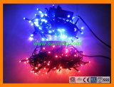 Decoración de Navidad Festival Cadena de luces LED de Energía Solar