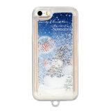 iPhone 6s Plusのための卸し売りChristmas Gifts Custom Snowing Phone Case