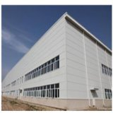 Prefabricated 쉬운 강철 구조물 창고 건물을 조립한다