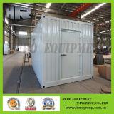 Casas de recipiente de monitoramento móvel da estação de energia solar