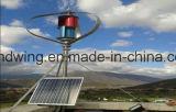 generador vertical de la energía eólica 1kw con las láminas de la aleación de Alluminum