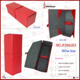 Primavera Green Foldable Single Bottle Wholesale Wine Case (5961R2)