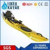 Sand Black Color Fishing Kayak의 Deluxe Seat&Trolley를 가진 2015년 낚시꾼 Kayak