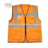 Colete de segurança reflexivo para marcação EN ISO 20471