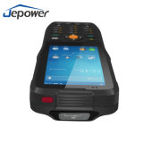 Ordinateur de poche Android Support du scanner de code à barres 2D 4G 3G GPRS Bluetooth WiFi communiquer