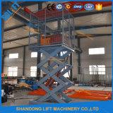 Levage hydraulique d'ascenseur de cargaison de ciseaux