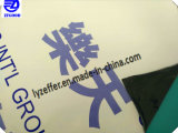 Film adhésif (protection de surface) avec le logo de l'impression pour les pays ACP Feuille.