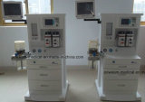 """Ce/ISO ha approvato macchina di anestesia della visualizzazione dell'affissione a cristalli liquidi della stanza 5.7 di ICU """" con 2 il vaporizzatore (PAS-200E)"""