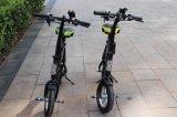 2017 Nouvelle conception 36V 350W Flodable Citycoco deux roues vélo électrique pour prix d'usine