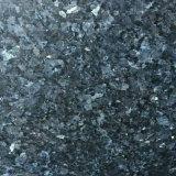 Granito blu naturale Polished della perla per le mattonelle di pavimento/lastra del controsoffitto