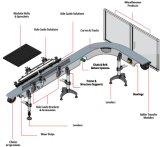 La chaîne de montage système de convoyeur Multiflex enchaîne la chaîne de convoyeur