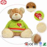 사랑스러운 장난감 곰이 푹신한 견면 벨벳 연약한 장난감에 의하여 큰 Hugble 농담을 한다