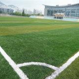 50mmの高さ10500の密度の流行U80詰物砂のサッカーピッチの人工的な草