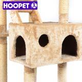 Mobilia felice poco costosa dell'albero del gatto dell'animale domestico forte e grande di formato del gatto,