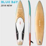 Aufblasbares Longboard Surfbrett China-mit Absinken-Heftung