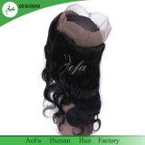 Frontals del merletto 360 dei capelli legati mano accurata peruviana nuova di stile