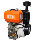 Air-Cooled 14HP moteur Diesel avec pièces de rechange standard