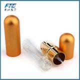De Fles van het Parfum van het Aluminium van het Ontwerp van de douane 5ml met de Buis van het Glas