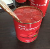 Las conservas de tomates pelados enteros en salsa de tomate