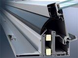De standaard Witte Deur van de Schommeling van de Deur van de Gordijnstof van de Legering van de Deur van het Aluminium